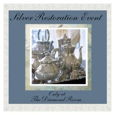 """""""Silver Restoration Event"""" by the-diamond-room on Polyvore featuring art"""