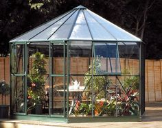 Summer House Shaped Green House