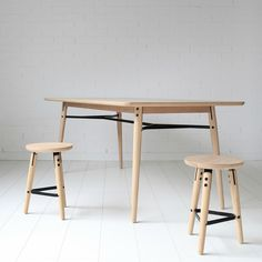 The Zeus dining table has smooth edges and round corners. It is designed to last and easy to assemble. Check it out at MuBu Home today! Nordic Style, Round Corner, Danish Design, Dining Bench, Interior Design, Chair, Kitchen, Australia, Furniture