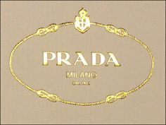 Personal Invitation from Prada® – Fixtures Close Up Chanel Hat, Prada, Candle Labels, Printable Labels, Printables, Gold Invitations, Closet Designs, Gold Logo, Hang Tags