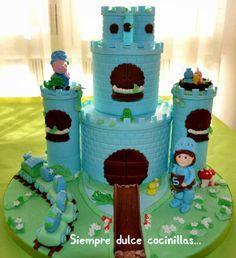 Castle Cake George Pig