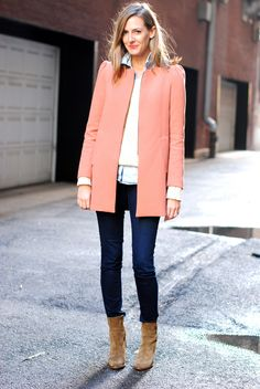 Spring Coat During Fall (See Jane Wear)