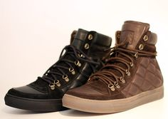 Marc Jacobs quilted hightop sneakers