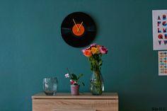 LP-klocka av Silje för Monthly Makers februari, tema återbruk.