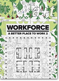 """A Better Place to Work 2 is the second volume of the WORKFORCE series, dedicated to the design of workspaces.  The article """"Redesigning the office building. Sources of inspiration"""" (by Javier Mozas) analyzes graphically the material and ethical dimension of projects, reclaiming references, highlighting elements or pinpointing qualities in that this might help to understand the sources of inspiration used by the architects. Moreover, A Better Place to Work 2 covers 20 projects of workspaces."""