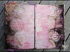 'So emotional'... art journaling