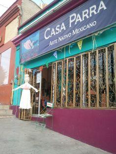Great folk art store in downtown LaPaz
