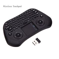 Introducing Jhua Mini 24GHz Wireless Keyboard with USB Receiver Air Smart Mouse Tochpad Remote Control Keyboard for Android and Google Smart TV Box PC Laptop Tablet HTPC. Great product and follow us for more updates!