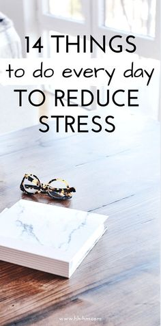 How to reduce stress naturally! Here are 14 things to do every day to find the relaxation you need, so you can deal with stressful situation better! self-care ideas and tips Stress affec Coping With Stress, Work Stress, Dealing With Stress, Stress And Anxiety, Stress Management Strategies, Stress Management Techniques, Stress Relief Tips, Natural Stress Relief, Ways To Reduce Stress