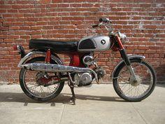 Honda CL90 - my first bike in 1973 thru 1974