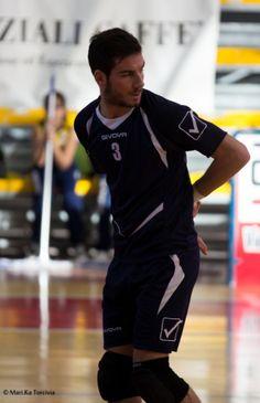 Il palleggiatore Matteo Piccini