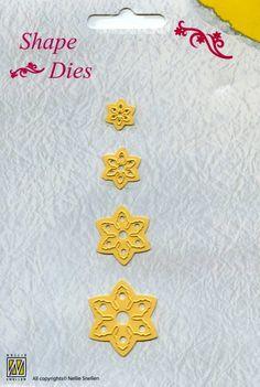 Nellie Snellen Shape Die Christmas Flowers (SD 004)