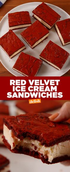 How have we never thought to do this with red velvet cake before?! Get the recipe from Delish.com.