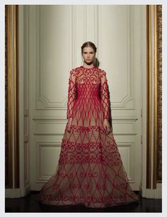 valentino haute couture s/s 13: sasha luss by gian paolo barbieri for vogue italia march 2013