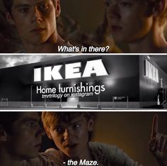 If you've ever been to ikea you'll understand this