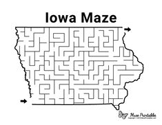 Mazes For Kids Printable, Worksheets For Kids, Free Printables, Coloring Pages For Kids, Coloring Books, Activity Sheets For Kids, Paper Puppets, Schools First, Iowa State