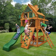 Shop Gorilla Playsets  01-0062 Chateau Tower Treehouse at ATG Stores. Browse our swing sets, all with free shipping and best price guaranteed.