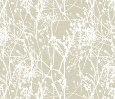 Winter Meadow fabric by kristopherk on Spoonflower - custom fabric