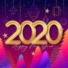 Happy New Year 2020 Wallpaper. If you like changing the look of your desktop you ll definitely love happy new year 2020 wallpapers. These wallpapers in essence can capture what the upcoming 2020 means for you whether you plan on going on a . New Year Images Hd, New Year Wishes Images, Happy New Year Pictures, New Year Photos, Happy Images, Happy New Year Poem, Happy New Year 2020, New Year Wallpaper Hd, Happy New Year