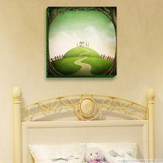Fairy landscape that will bring fantastic magical dream.