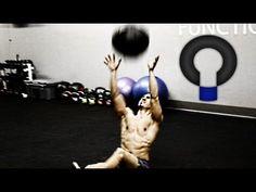 Medicine Ball MMA core training circuit