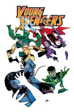 Young Avengers #5 - Read this today in honor of Father's Day. Found it to be a little forgettable. The art is of course amazing. The writing is light and fun but it resolved nothing story-wise. So, conflicted. Hopefully #6 will be a cool one-off pallet cleanser.