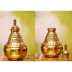 Buy Traditional Brass Lamp Uniquely Designed Sheet Made Kumba Deepam Brass Lamp, Whiskey Bottle, Corner, Traditional, Unique, Products, Gadget