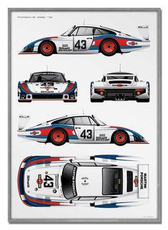 mami Porsche Poster x 100 cm) Porsche 935, Porsche Motorsport, Porsche Cars, Porsche Carrera, Le Mans, Nascar, Sports Car Racing, Auto Racing, Drag Racing