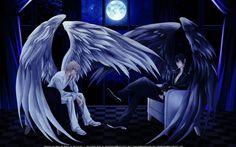 Gorgeous wallpaper created by MoonFangs ... betrayal knows my name, luka crosszeria, uraboku, uragiri, yuki giou