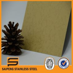 Lamination Stainless Steel Sheet for Interior Decoration--SAIPENG STAINLESS STEEL
