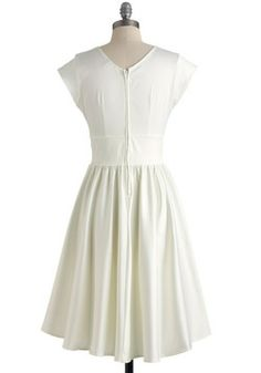Love You Ivory Day Dress, #ModCloth