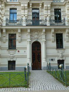 The Art Nouveau  Architecture | Riga, Latvia, Art Nouveau (Jugenstil) Architecture | Flickr - Photo ...
