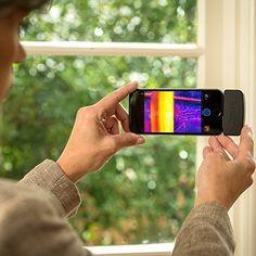 Wie genial ist das denn? Baut aus eurem Smartphone eine Wärmebildkamera!  #Gadgets #Smartphonetools #Toysforboys