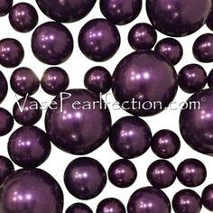 Jumbo//Assorted Sizes Vase Decorations /& Tables Scatter Purple Sparkling Gems