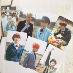 Young Forever Album, Bts Playlist, Cute Photos, Beautiful Moments, Photo Cards, Kpop, In This Moment, Prints, Handmade