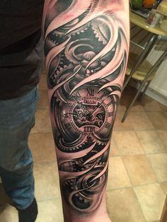 29 Meilleures Images Du Tableau Tatouage Horloge Tattoo Clock