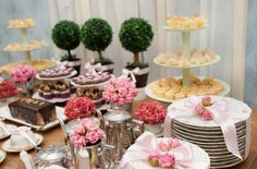 Chá da tarde sobre organização de festinhas infantis