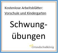 Für die Vorschule und den Kindergarten: Kostenlose Arbeitsblätter mit…