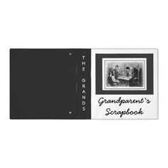 Nana Gifts, Grandparents, Scrapbooks, Vintage Looks, Binder, Great Gifts, Coding, Gift Ideas, Products