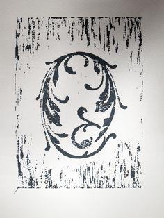 Linocut Alphabet, The Printmaking Class.