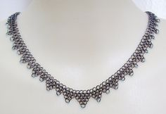 Black Chain Mail Collar Necklace by Gone-Wishing on DeviantArt