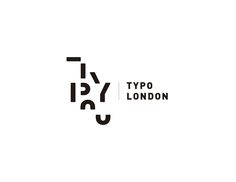 A rebrand project for Typotalks London project is to design a typographic word mark/logo for TYPO London. The logo will go on T-shirts and attendee badges, as well as large posters. Logo should be designed in black and white. Typo Logo Design, Logo Design Trends, Graphic Design Posters, Web Design, Branding Design, 2017 Design, 3d Logo, Logo Word, Word Mark Logo