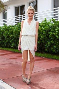 @Amanda Del Duca at Miami Swim Week! Photos by Karla Garcia.