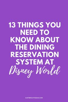 Heading to Disney World? Here's a quick 101 on how to make Disney dining reservations and the rookie mistakes to avoid. Especially if you want to dine at the Be Our Guest or Cinderella restaurants.