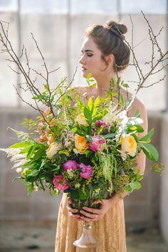 Large arrangement by Nancy made at 2016 Florabundance Design Days