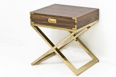 I would love this for a bedside table, except in rosewood