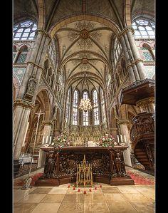 Liduina Basiliek - Neo Gothic church in Schiedam, the Netherlands