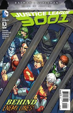 Justice League 3001 #9 - Total Eclipso! (Issue)