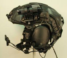 Special combat helmet