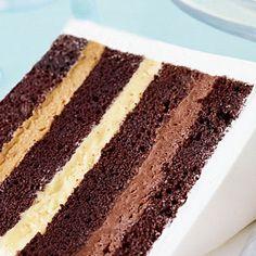 de sel pot de creme chocolate cake with fleur de sel caramel filling ...